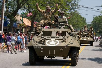 Fourth of July to be observed with a display of operational armor from the Museum of American Armor in the Massapequa Park Parade