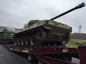 M18 hellcat arrival
