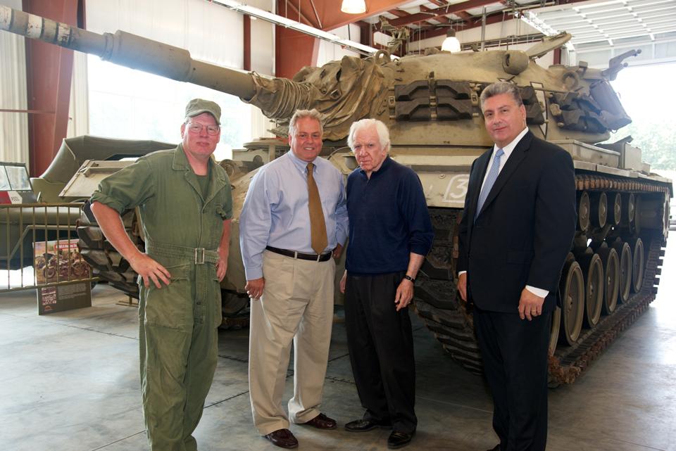 Museum board members - Michael Sapraicone, Lawrence Kadish, Steve Napolitano, Mark Renton