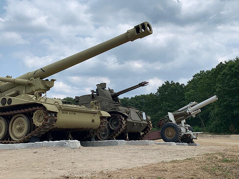 Museum of American Armor places latest historic armor on field display