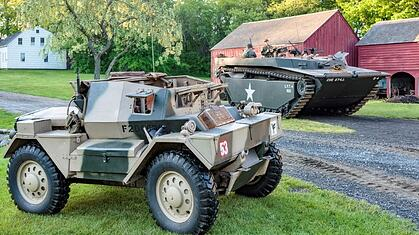 Museum of American Armor welcomes a British armor legend that served from Dunkirk to Berlin