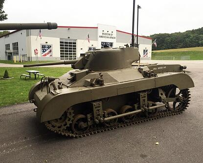Rare Locust tank designed for a World War II glider joins the collection at the Museum of American Armor