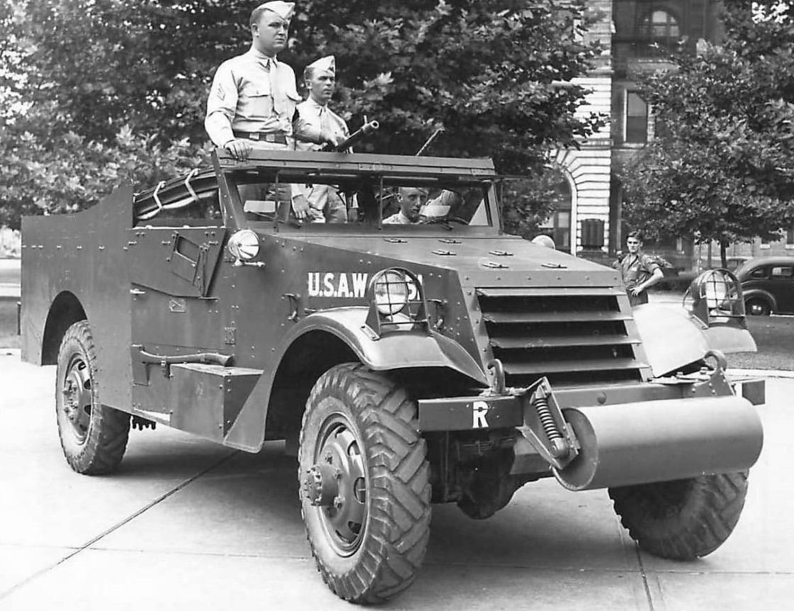 White-M3-Scout-Car
