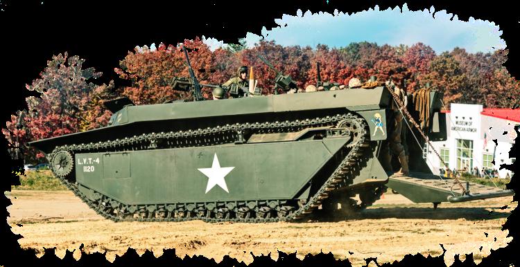 LVT Amphibious Assault Vehicle