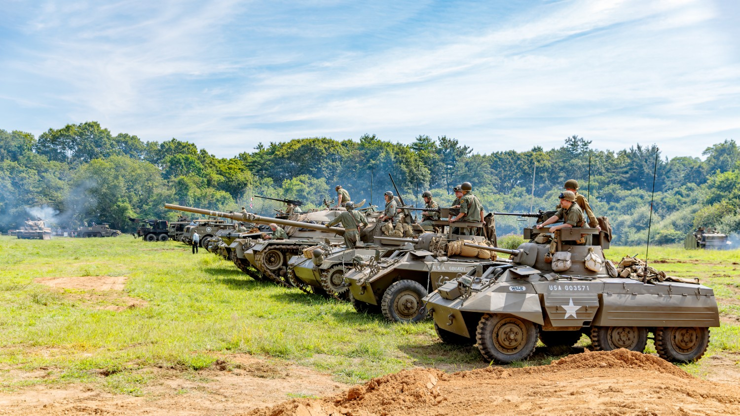 Our Lineup of Combat Vehicles and Tanks