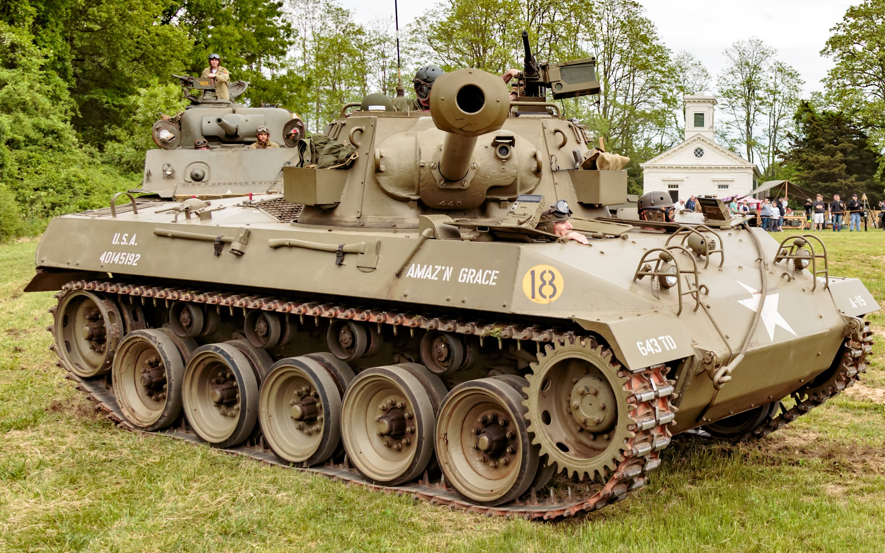 Hellcat 76mm Gun